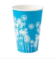 Printed 7oz Tall Paper Cups for Cold Drinks (Pack of 2000)