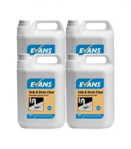 Evans Sink and Drain Clear (4 x 2.5 Litres)