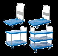 ProPlaz Blue Platform Truck/Trolley - All Sizes