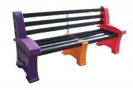 Multicoloured Seats (3 Persons)