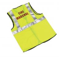 Fire Marshal Hi-Vis Yellow (Various sizes)