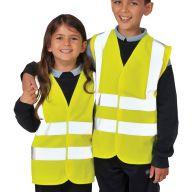 Hi Viz Childrens Waistcoat Age 7-9