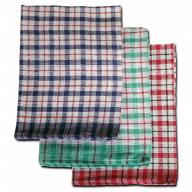 Lightweight Cotton Tea Towel Checked
