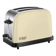 Russell Hobbs Colour Plus 2 Slice Toaster Cream