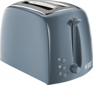 Russell Hobs Textures 2 Slice Toaster Grey