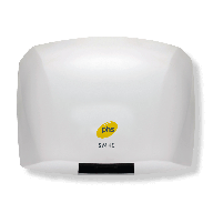 World Dryer Automatic Entry Level Hand Dryer SM48 in White