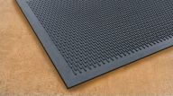 Soilscraper Entrance Safety Mat in Black 90cm x 150cm