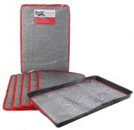 Pack of 5 Medium SpillTector® Trays and Absorbent Mats