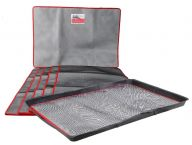 Pack of 5 Extra Large SpillTector® Trays and Absorbent Mats