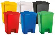 Trojan 15 Litre Plastic Step Pedal Bins (Various Colours)