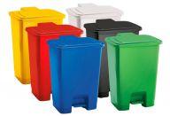 Trojan 30 Litre Plastic Step Pedal Bins (Various Colours)