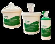 Swipes Antiviral Safe Wipes Various Sizes