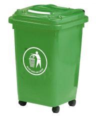 50 Litre Wheelie Bin Green