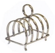 Stainless Steel Toast Rack- 4 Slice