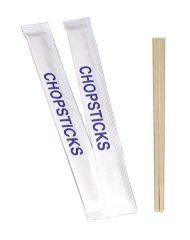 "10"" Chopsticks Wrapped in Pairs (Pack of 250)"
