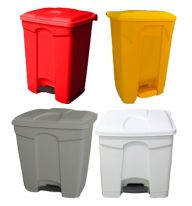 30 Litre Step On Containers Pack of 5 (Various Colours)