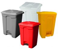 Step On Containers Pack of 4 (Various Colours and Sizes)