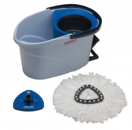 Vileda Ultra Spin Starter Kit in Blue