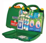 Wallace Cameron HSE First Aid Green Box Dispenser