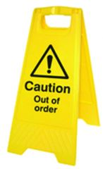 Out of Order Caution Sign