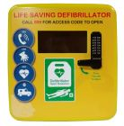 Outdoor Polycarbonate Defibrillator Cabinet 4000 Series- Locked