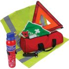 Standard Vehicle First Aid & Safety Kit with Fire Extinguisher