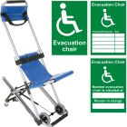 Evacuation Chair with FREE Accessory Bundle
