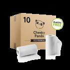 Cheeky Panda Plastic Free Kitchen Towels - 10 Rolls