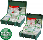 Value Workplace Small, Medium & Large Stocked First Aid Kits in a Case