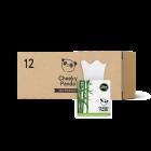 Cheeky Panda Bamboo Facial Tissue Cube 56 Sheets X 12 Boxes
