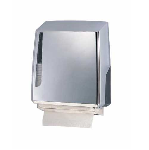 Prima Interfold Tissue Dispenser (Single) Polished Chrome - discontinued