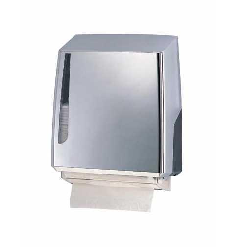Prima Interfold Tissue Dispenser (Single) in Bright Chrome Finish