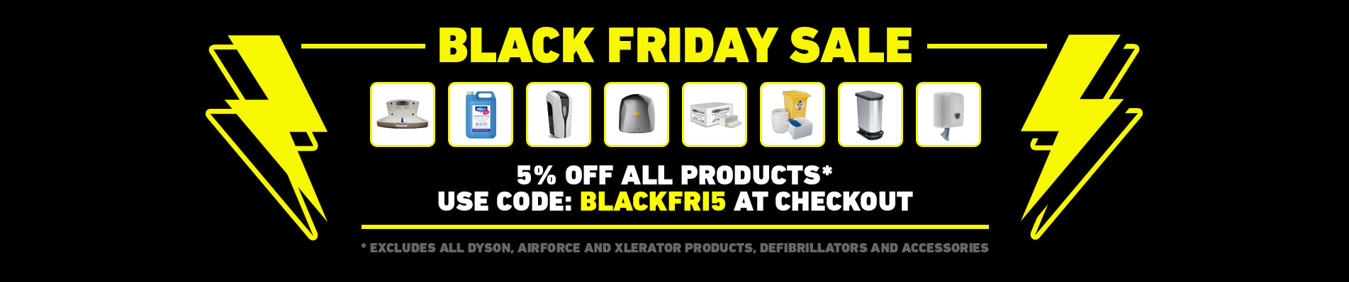 BLACK FRIDAY SALE - 5% OFF ALL PRODUCTS